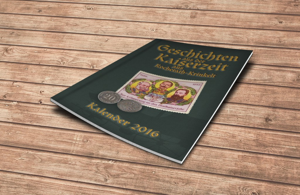 Kalender 2015 auf einem Tisch