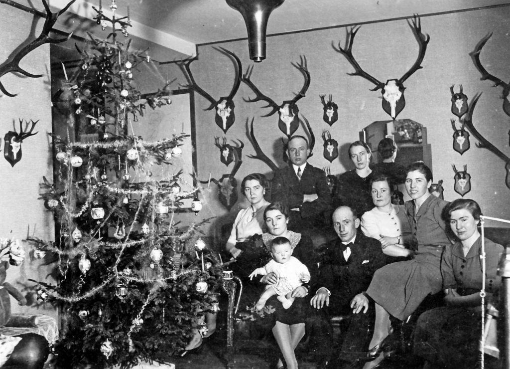 Weihnachten im Forsthaus 1939